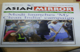 IQAG Acquiring Asian Mirror Magazine
