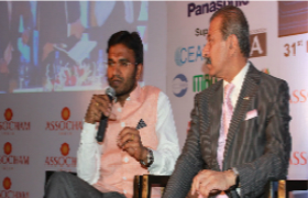 IQAG Chairman Damodar Aveli at Assocham Meet
