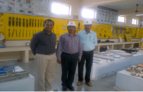 L&T Field Visit by IQAG